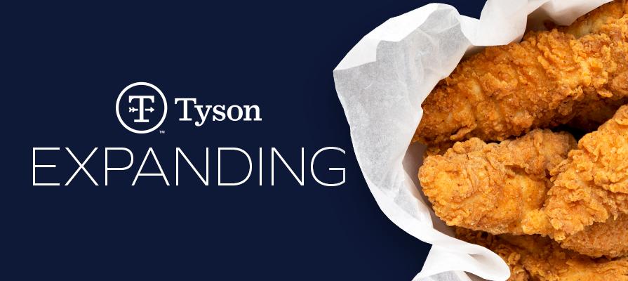 Tyson Foods Reveals 48M-Dollar Arkansas Poultry Operation Expansion Project