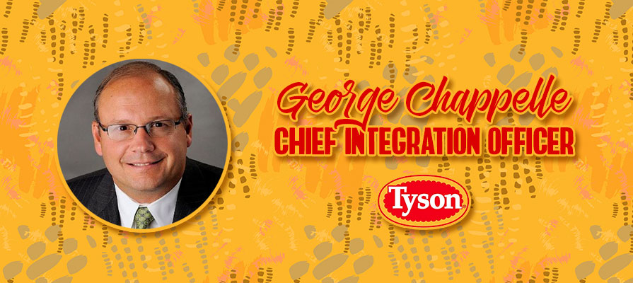 George Chappelle Joins Tyson Foods as New Chief Integration Officer