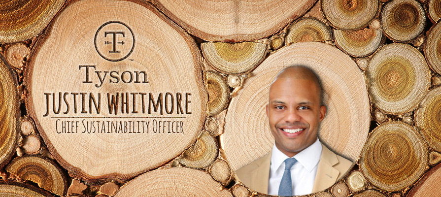Tyson Foods Names Chief Sustainability Officer Justin Whitmore
