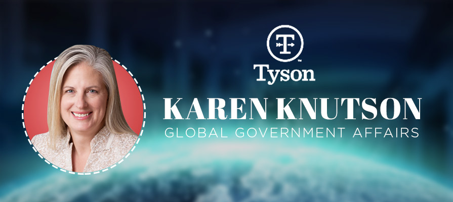 Tyson Foods Foods Names Karen Knutson as Senior Vice President of Global Government Affairs
