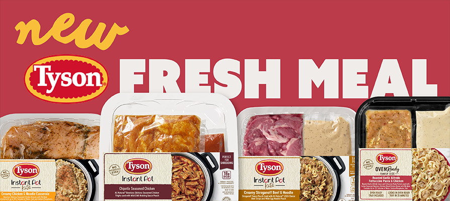 New Tyson® Brand Fresh Meal Shortcuts Offer Delicious Comfort Food Classics Without the Effort