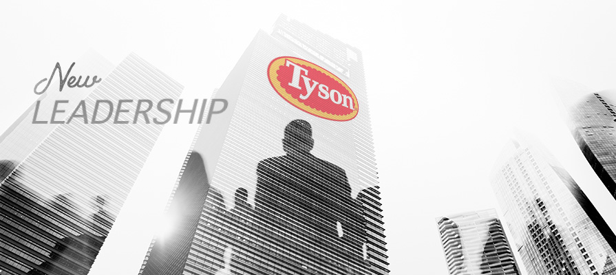 Tyson Appoints New Leadership Team, Three Execs Depart