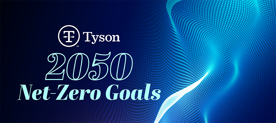 Tyson Foods Announces Strategy to Achieve Net-Zero Greenhouse Gas Emissions by 2050