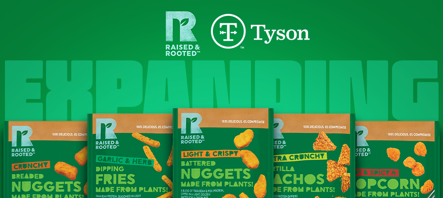 Tyson Foods Expands Raised & Rooted™ Brand to Europe