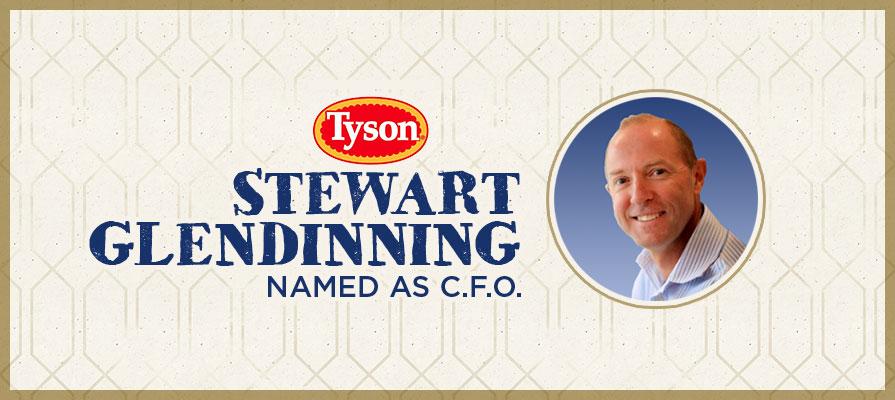 Tyson Foods Names Stewart Glendinning Chief Financial Officer