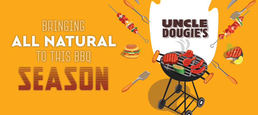 Uncle Dougie's Bring All-Natural Flavor this BBQ Season
