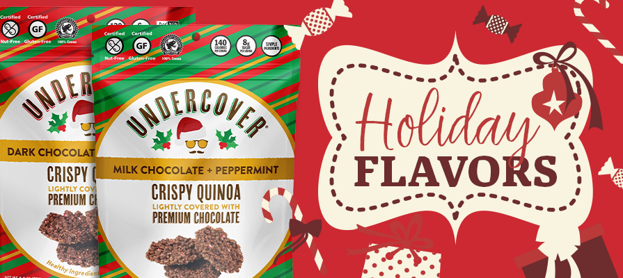 Undercover Snacks Launches Extraordinary New Holiday Flavors