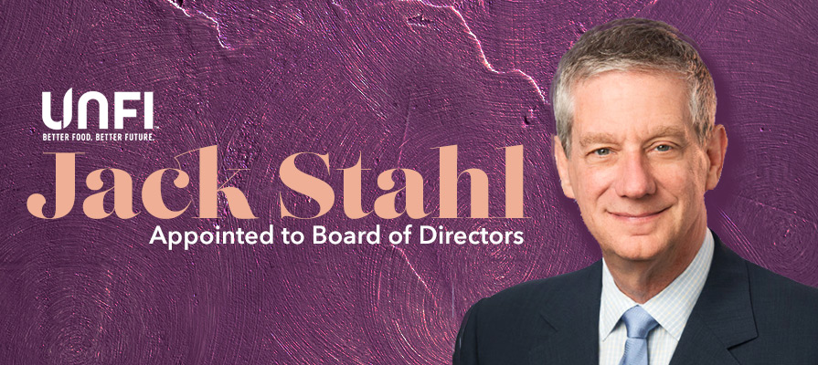 Jack Stahl is Elected to UNFI Board of Directors