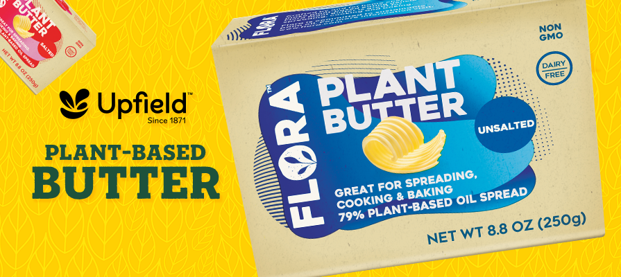 Upfield Launches Its New Flora™ Brand Plant-Based Butter