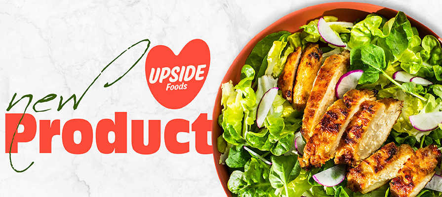 Memphis Meats Becomes UPSIDE Foods and Officially Announces Chicken as its First Consumer Product