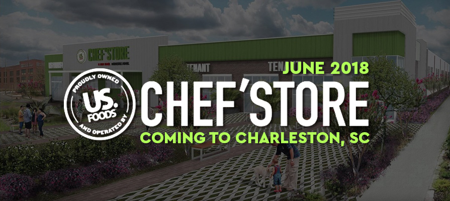 US Foods Begins Construction on New Chef'Store in Charleston, South Carolina