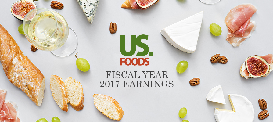 US Foods Exceeds Expectation for Q4 2017, Grows Revenue, Case Volume, and Gross Profit