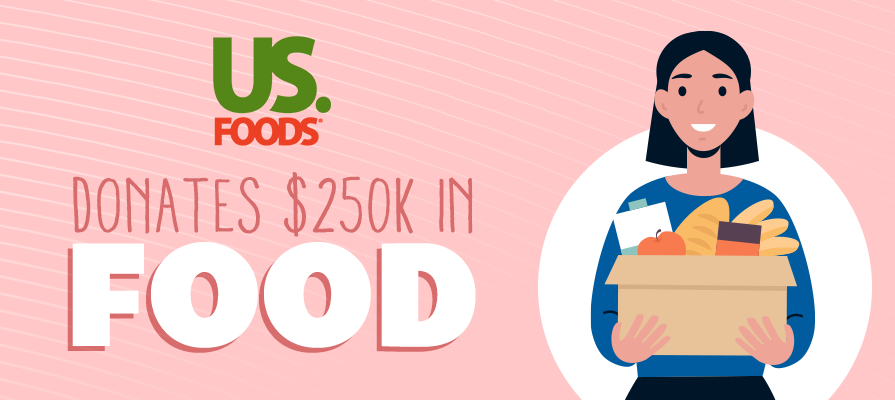 US Foods Donates $250K Worth of Food to Pop-Up Pantries