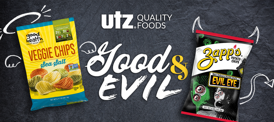 Utz Quality Foods Launches Good & Evil Snack Food Adventures