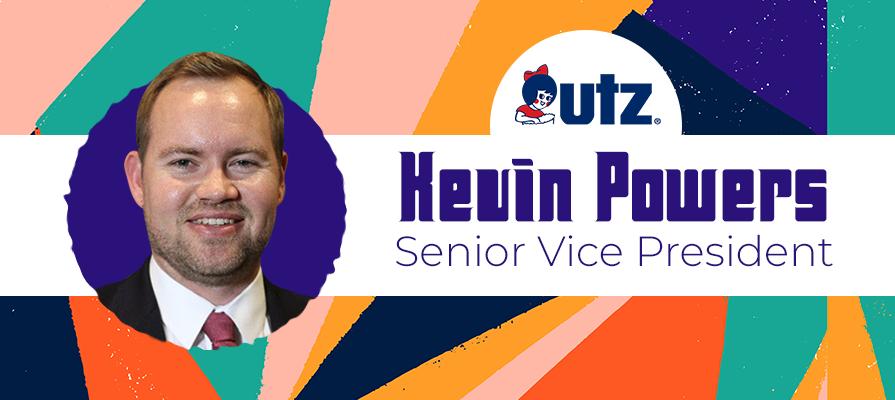 Utz Brands Announces New Senior Vice President of Investor Relations Kevin Powers