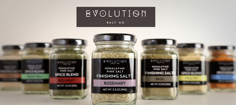 Evolution Salt Co. Launches New Line of Premium Gourmet Seasoning Blends and Salt Finishes