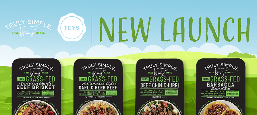 Teys Delivers Sustainable Mealtime Convenience With Launch of Truly Simple