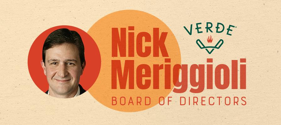 Verde Farms Adds Johnsonville CEO Nick Meriggioli to Its Board of Directors