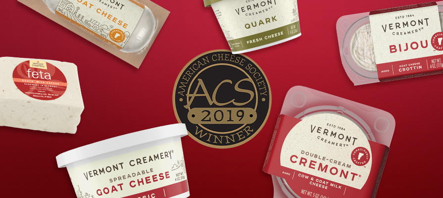 Vermont Creamery Wins Six Awards at 36th Annual American Cheese Society Competition