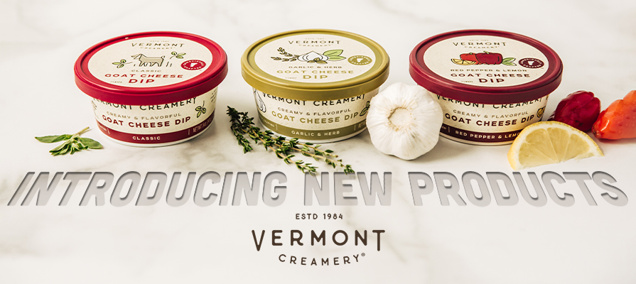 Vermont Creamery Launches New Goat Cheese Dips