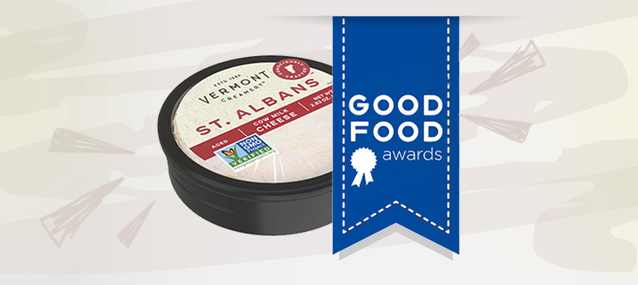 Vermont Creamery's St. Albans Cheese Wins Good Food Award