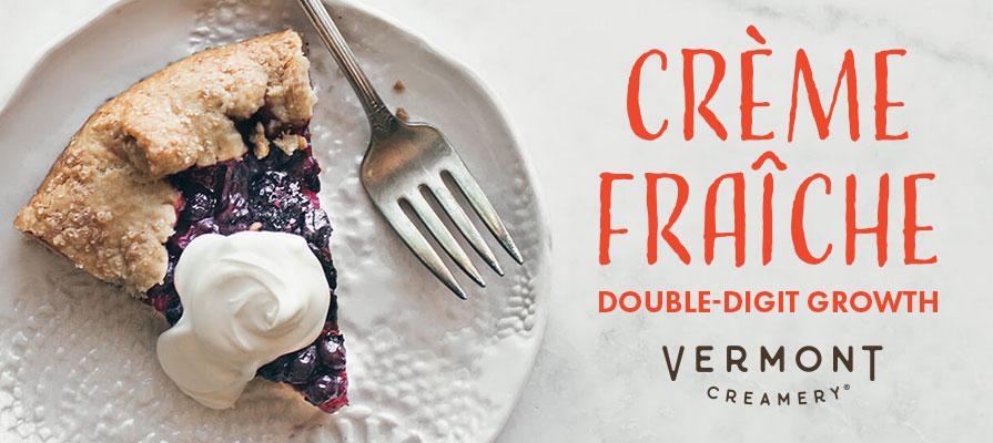 Vermont Creamery's Crème Fraîche Sales Skyrocket