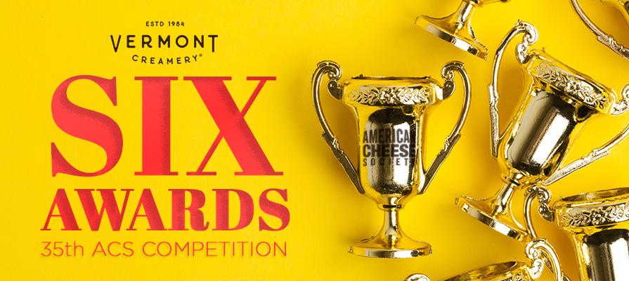 Vermont Creamery Wins Six Awards at ACS