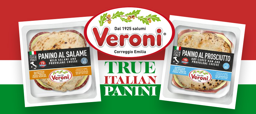 Veroni Debuts the Panino Italiano