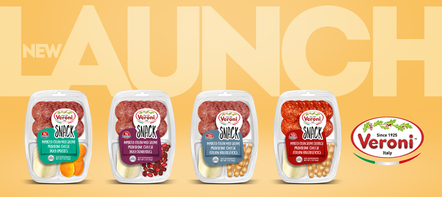 Veroni Launches a Brand-New Snack Line; Emanuela Bigi and Lorenzo Ferrara Comment