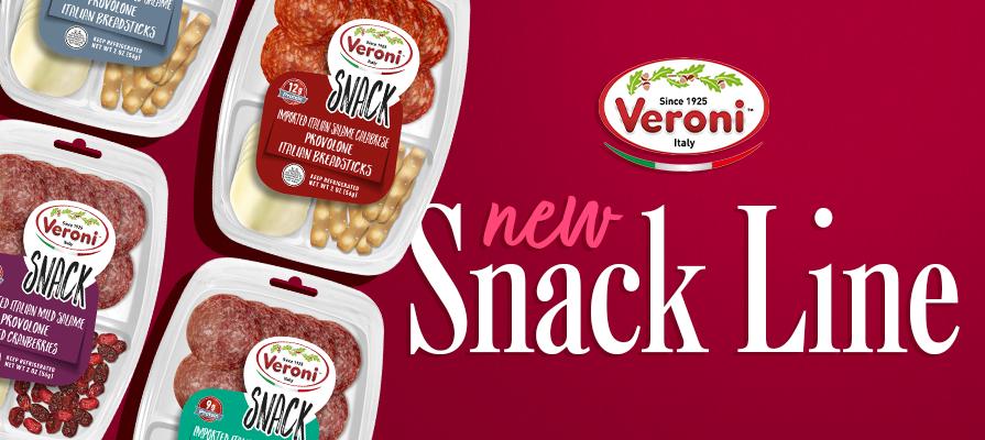 Veroni Launches New Premium Snacking Line