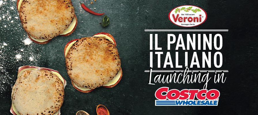 Veroni Launches Panino Italiano in Costco Stores