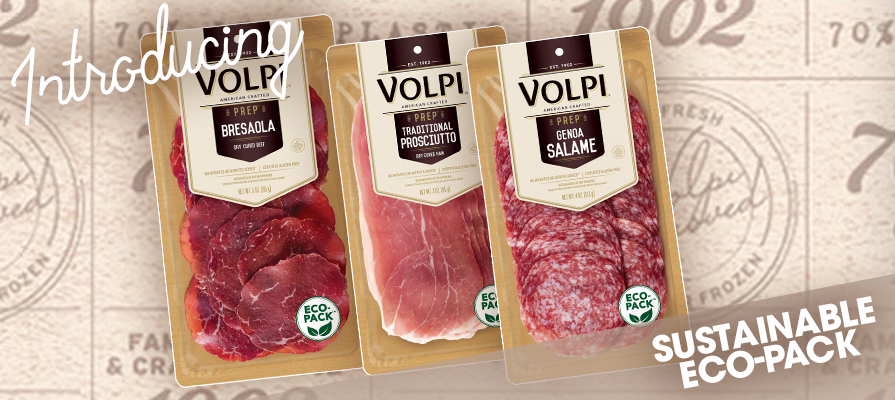 Volpi Foods Launches Sustainable Eco-Pack For All Retail Packaging