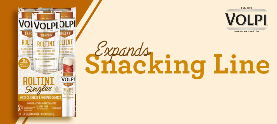 Volpi Announces New Additions to Snacking Line