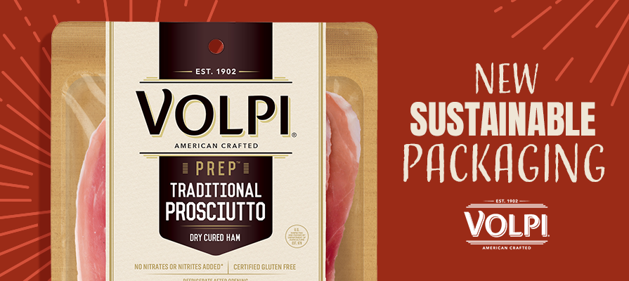 Volpi Foods Unveils New Sustainable Packaging