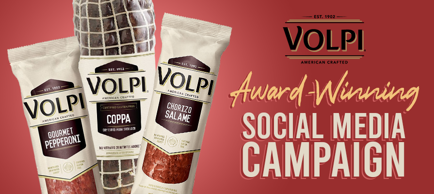 Volpi Foods Honored By Webby Awards