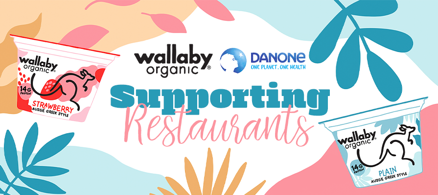 Wallaby Organic Introduces Walla-Be, an Aussie Program to Support Australian-Inspired Restaurants and Chefs Across the U.S. in Response to COVID-19