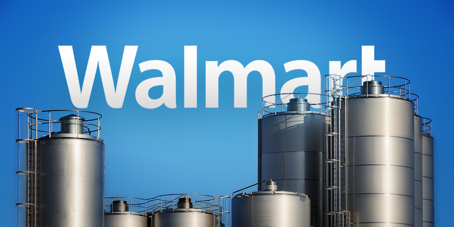 Walmart to Build 250,000-Square-Foot Milk Processing Plant