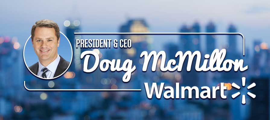 Walmart President and CEO Doug McMillon Highlights New Strategic Initiatives
