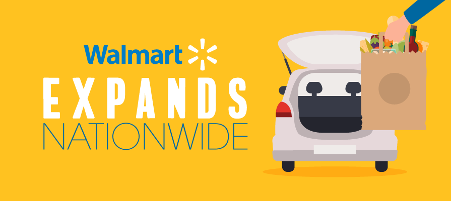 Walmart Banner Sam's Club Launches Curbside Pickup Nationwide