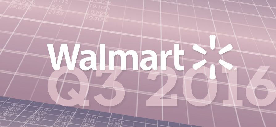 Walmart's Q3 2016 Beats Expectations