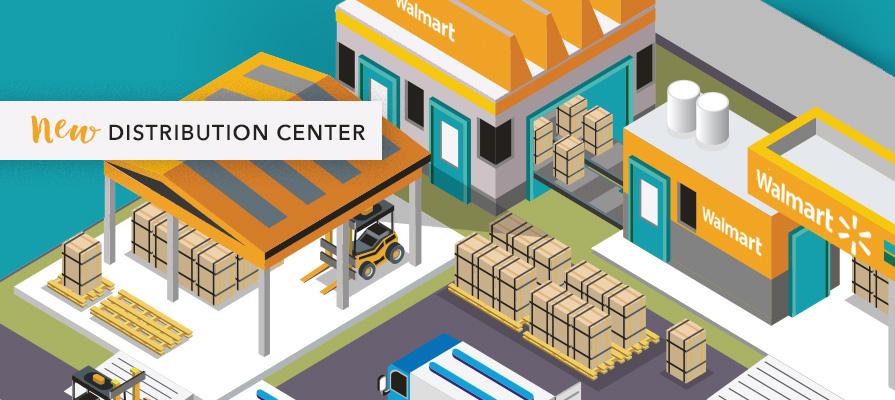 Walmart Gets the OK for New Alabama Distribution Center