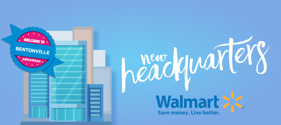 Walmart to Build New Headquarters in Bentonville, Arkansas