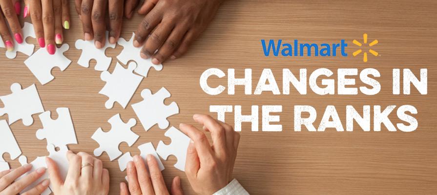 Walmart Drops Division President
