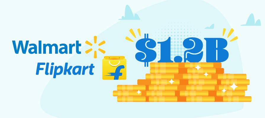 Walmart Leads 1.2B-Dollar Investment in Flipkart