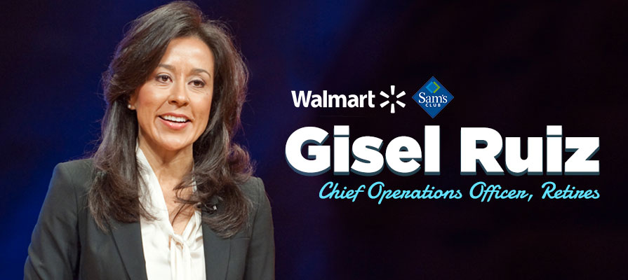Chief Operations Officer Gisel Ruiz Exits Walmart and Sam's Club