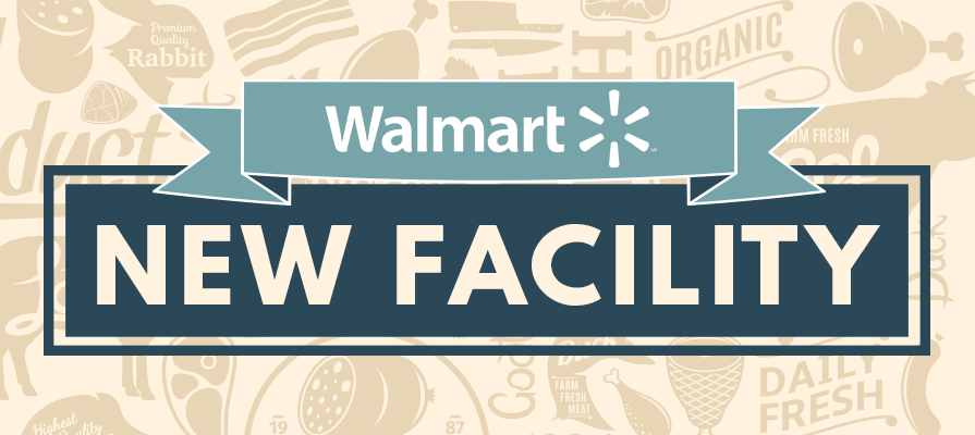 Walmart Opens Case-Ready Meat Facility