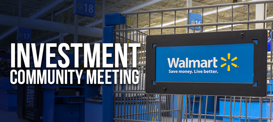 Walmart Lowers Projected Profits; Doug McMillon Discusses Shifting Strategy