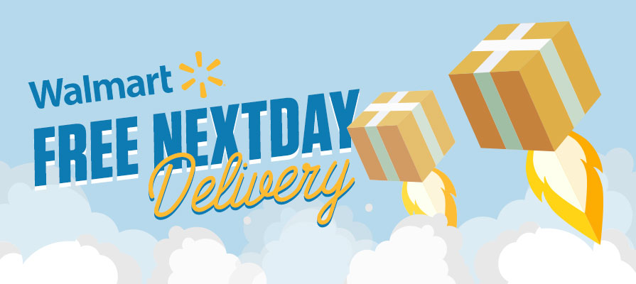 Walmart Announces Free NextDay Delivery Service