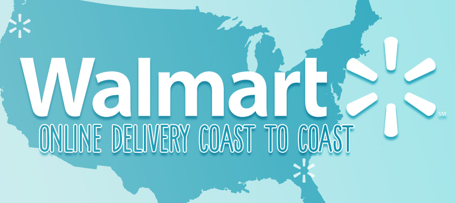 Walmart Expands Online Grocery Delivery Service to 100 Metro Areas Across the Country