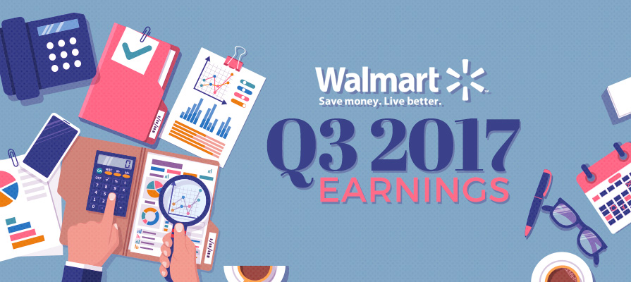 Walmart Sees Success with Q3 2017 Financial Report